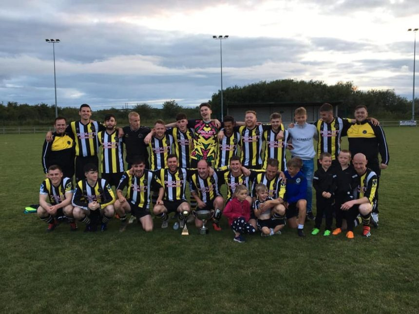 NCW Town FC league cup champions for 2019
