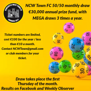 Poster Newcastle West soccer draw